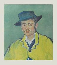 van Gogh Kunstdruck Poster Bild Lichtdruck Bildnis eines jungen Mannes 70x60 cm