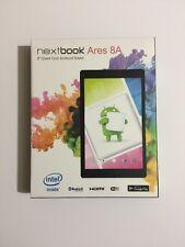 "BRAND NEW SEALED BOX NEXTBOOK 8"" INTEL ATOM QUAD CORE BLACK 16GB ANDROID TABLET"