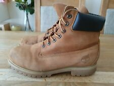 TIMBERLAND 6INCH BOOTS MENS SIZE W9 FIT UK8.5 GENUINE