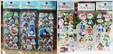 wholesale!cartoon 3D Children Stereoscopic puffy Stickers - Lot Of 6  kid gift