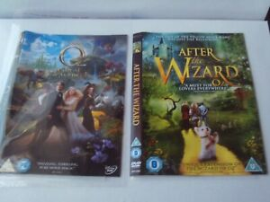 Oz - The Great And Powerful / After the Wizard - 2 x DVD - Discs & Covers Only