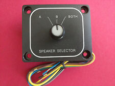 A/B Speaker Switch Selector Front Back Control Splitter A B Panel Mount