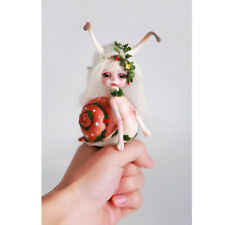 1/8 BJD SD Dolls Lovely Pet Bare Unpainted Doll + Random Eyes without Any Makeup