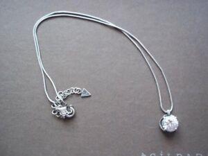 SILPADA RARE Sterling Silver Cubic Zirconia CZ Necklace N1969 EUC HTF CUTE WOW!