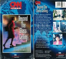 CNN Beyond the Glass Ceiling VHS Video Tape New CNN Special reports