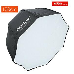 "120cm 47"" Godox Octagon Softbox Umbrella Brolly Reflector for Speedlight"