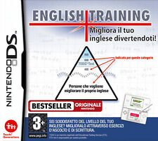English Training Improve Your Skills (Impara L'Inglese) Nintendo DS IT IMPORT