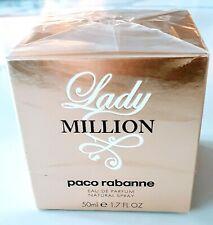 PACO RABANNE LADY MILLION EAU DE PARFUM SPRAY 50ML BRAND NEW AND SEALED