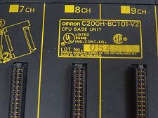 Omron Sysmac PLC BC101-V2 CPU Base Unit C200H