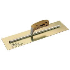 """Kraft 14"""" x 5"""" Elite Series Five Star Plastering Trowel Golden SS Cork Handle"""