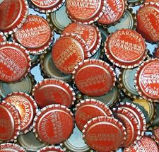 Soda pop bottle caps Lot of 25 CARAVAN ORANGE camels pic unused new old stock