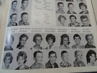 1962 LA COLINA JUNIOR HIGH SCHOOL Santa Barbara CA Original YEARBOOK Acrobiblos