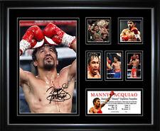 New Manny Pacquiao Signed Framed Memorabilia