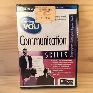 TEACHING YOU: COMMUNICATION SKILLS Educational PC Game Computer Software (2005)