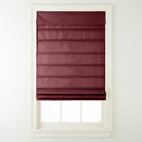 Thermal Lined Roman Shades - 11 Colors