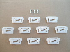 10 NOS TRIM RETAINERS! 1978-88 GM CARS! MONTE CARLO SS 442 GRAND NATIONAL T-TYPE