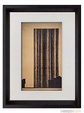 Mies Van Der Rohe Limitée Lithographie -glashoch Hause '21 Signe + Custom Cadre