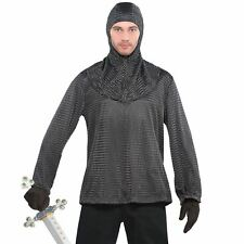 Mens Viking Warrior Costume Accessories Adult Nordic Medieval Fancy Dress Tunic