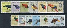 Honduras britannico 1962-67 serie corrente uccelli mnh