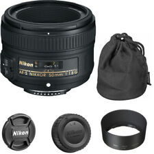 Nikon 50mm f/1.8G AF-S Lens for Nikon Digital SLR Cameras