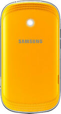 Samsung Galaxy Music Duos S6012 Battery Door Back Standard Cover Original Yellow