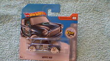 "Hot Wheels - UK Card - #137 Morris Mini - Dark Metallic Blue ""333"""