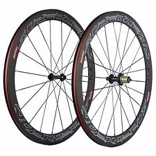 Toray T700 Carbon  Wheels 50MM Clincher Superteam Wheelset Basalt Brake Surface
