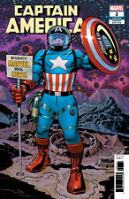 CAPTAIN AMERICA #2 KIRBY REMASTERED VARIANT - MARVEL COMICS - F976