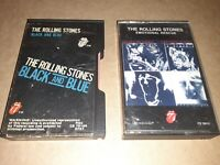 Rolling Stones Black & Blue And Emotinal Rescue On Cassette