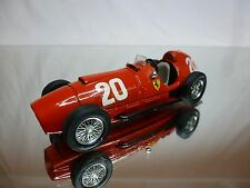 BRUMM 125 FERRARI 375 INDIANAPOLIS 1951 - No 20 - F1 RED 1:43 - GOOD CONDITION