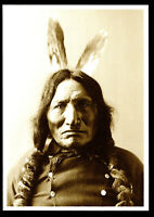 ⫸ 970  Postcard Red Horse, Sioux Chief – 1883  Photo by David Barry – NEW