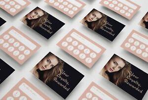 Hair Dresser Loyalty Cards For Hair Salons & Hair Stylists - From 6p/Card