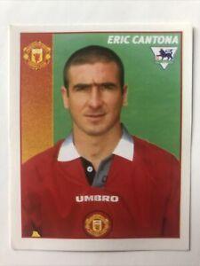 Merlin Premier League 1997 Football Sticker Eric Cantona Manchester United 295