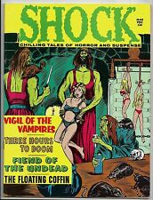 SHOCK VOL 3 #1 MARCH 1971 VF- 7.5 STANLEY PUBLICATIONS