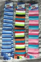 Toe socks knee high striped multi coloured  ladies girls, blue pink red orange