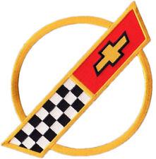 """VETTE CORVETTE RACE TEAM 1984-1996 Corvette C4 FRONT HOOD NOSE EMBLEM 3.5/"""" PATCH"""
