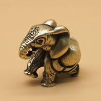 Brass Elephant Keychain Pendant Pants Chain Pendant Bag Pendant Car EDC Pendant