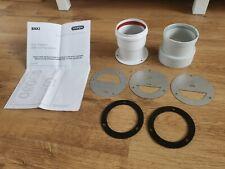 Baxi Multifit Boiler Twin Flue Adaptor Part No 5111079 GENUINE Replaces 5118521