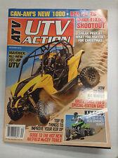 ATV UTV Action Magazine Maverick 101 HP UTV December 2012 032617nonR