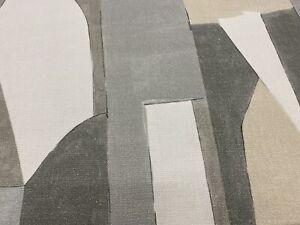 Groundworks Kelly Wearstler Print Fabric District Alabaster 0.55 yd GWF-3752.116
