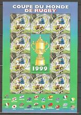 FRANCE 1999 - SOUVENIR SHEET n° 26 MNH ** RUGBY - WORLD CUP