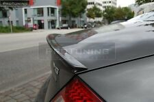 CLS W219 rear door Sport trunk spoiler lip wing Tailgate AMG Brabus cover Trim
