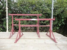 Two New Adjustable Size 1 Builders Trestles for only £19.50 ea