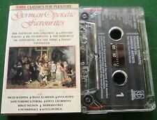 German Operatic Favourites Mozart Wagner + Cassette Tape - TESTED