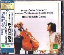 ROSTROPOVICH Seiji OZAWA DVORAK Cello TCHAIKOVSKY Rococo JAPAN CD Rostropowitsch