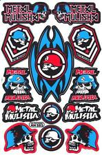 1 SHEET NEW METAL MULISHA MOTOCROSS ATV ENDURO BIKE RACING DECAL STICKER SK127