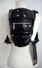 BELSTAFF STELLA SMALL BACKPACK 756458 Rucksack Tasche Croco Black NEU mit ETIKET