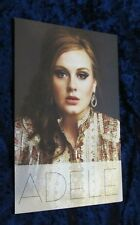Adele promo card  - 21 - promotional card - 5 x 8 inches