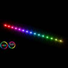 More details for game max viper argb magnetic 15 x led, 30cm strip light, pc case argb led strip