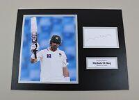 Misbah Ul Haq Signed 16x12 Photo Pakistan Cricket Autograph Memorabilia Display